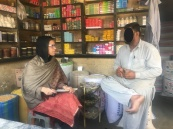 Interview with shopkeeper, District West